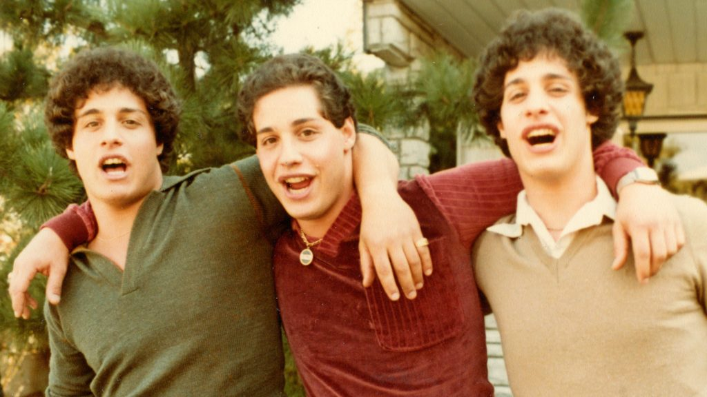 three identical strangers, effects of separation trauma, characters on the couch