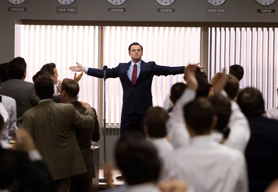 The Wolf of Wall Street There are no friends in the world of Greed