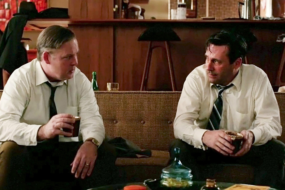 MAD MEN Season 7 Episode 4 Why are your here Don Droper?