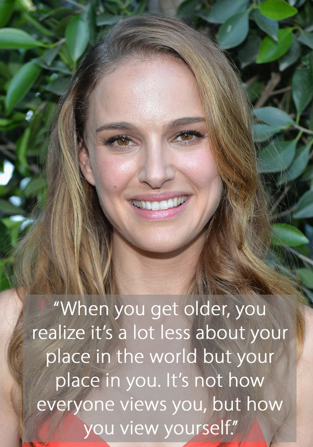 Natalie Portman Growing Up It's Not How Others See You